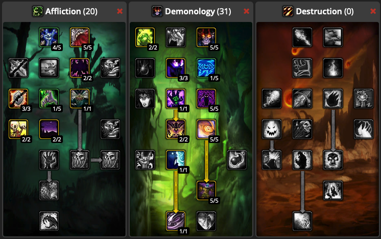Orc Warlock • Min-maxing to 60 and beyond (version 1 1