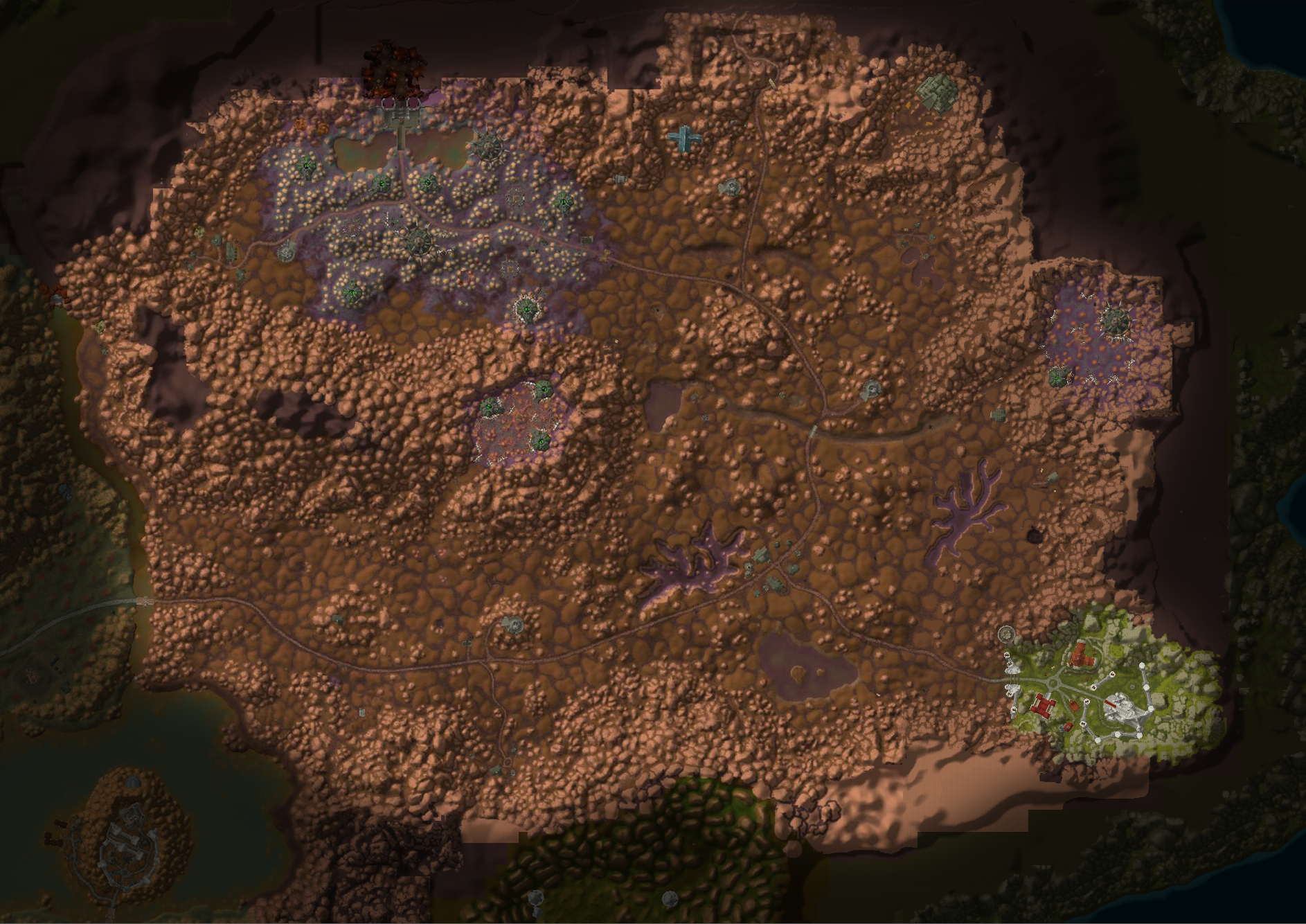 High resolution terrain maps of Azeroth • WoW Classic • Barrens Chat