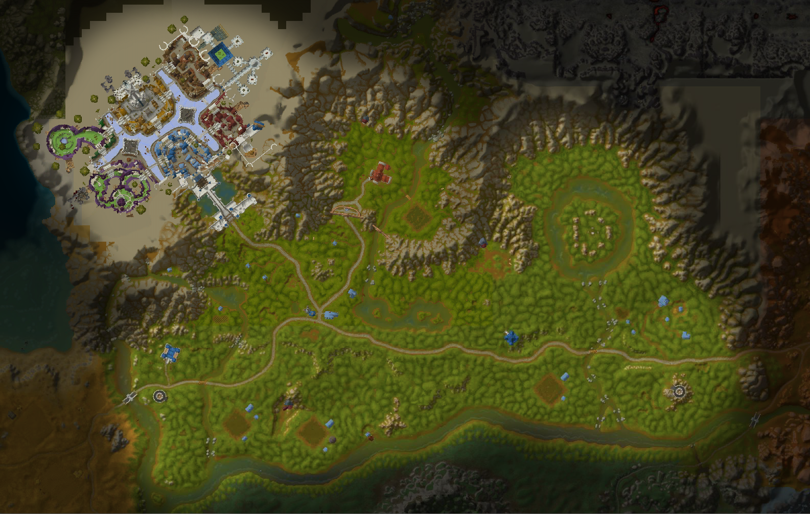 High resolution terrain maps of Azeroth • WoW Classic