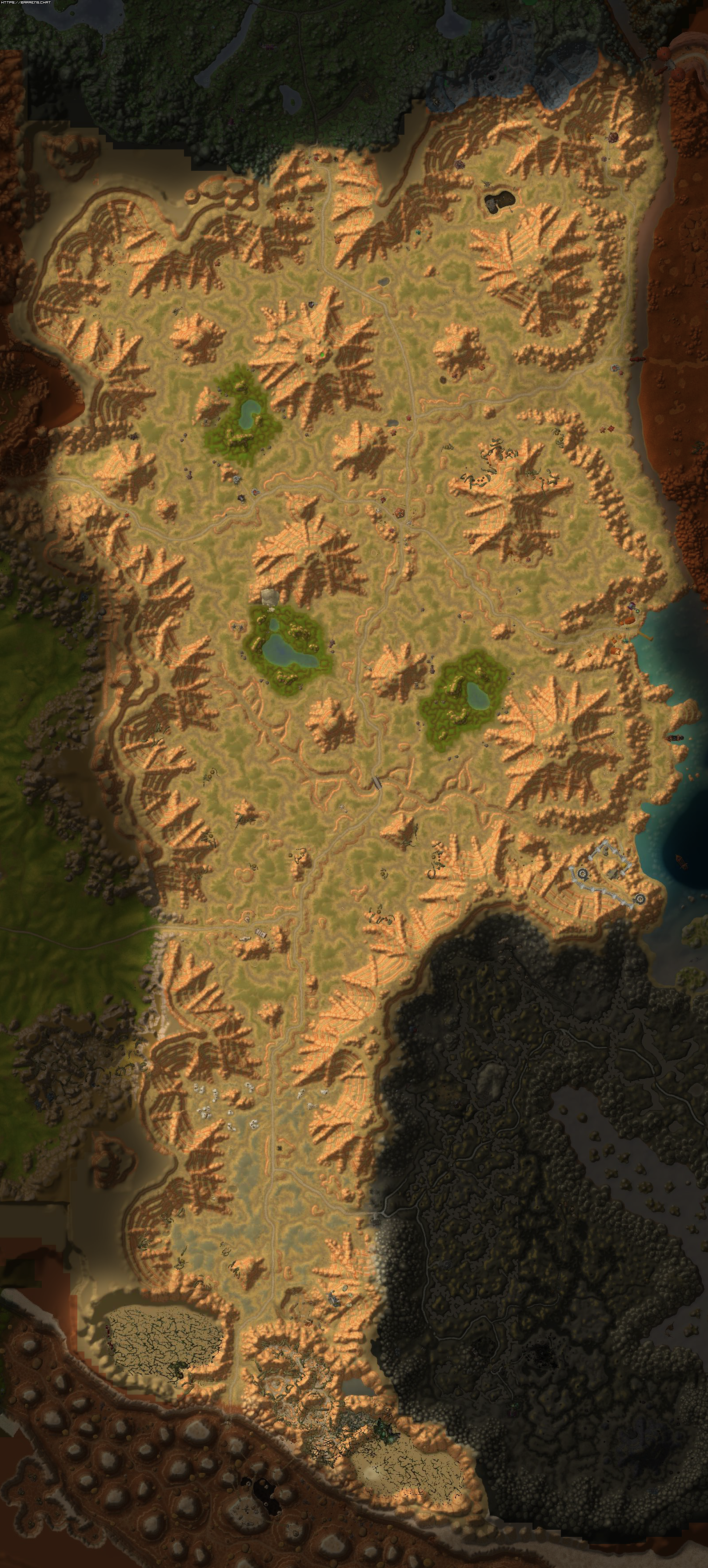 high resolution terrain maps of azeroth  u2022 wow classic