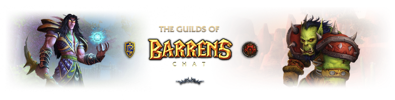 The Guilds of Barrens Chat • WoW Classic • Barrens Chat