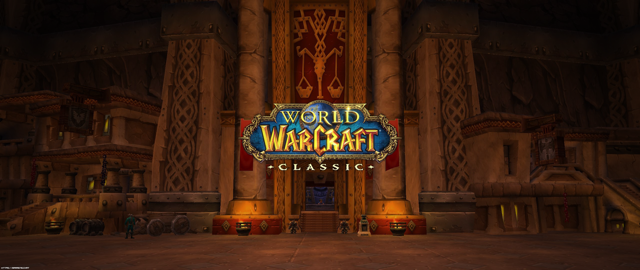 WoW Classic Ironforge Wallpaper