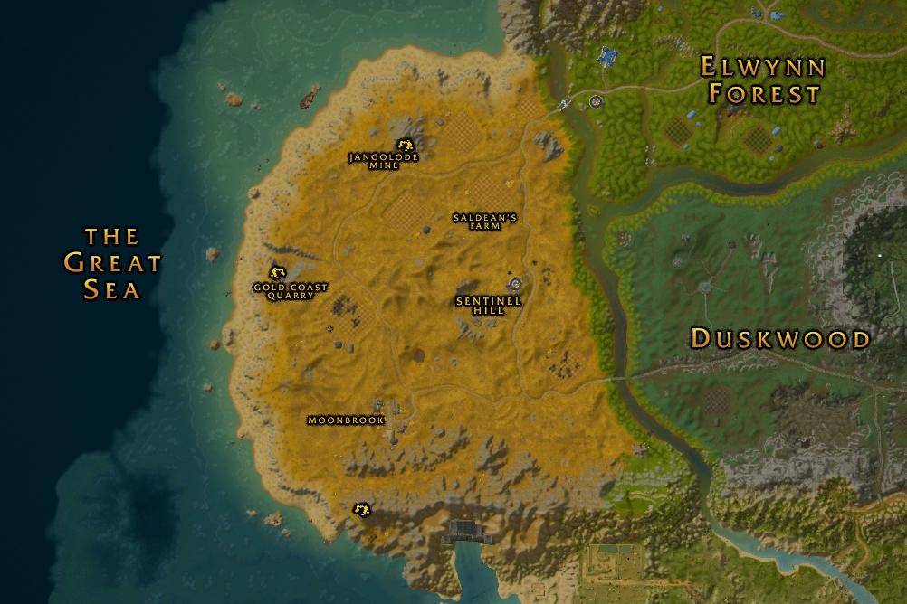 Atlas World Map Classic Westfall 10