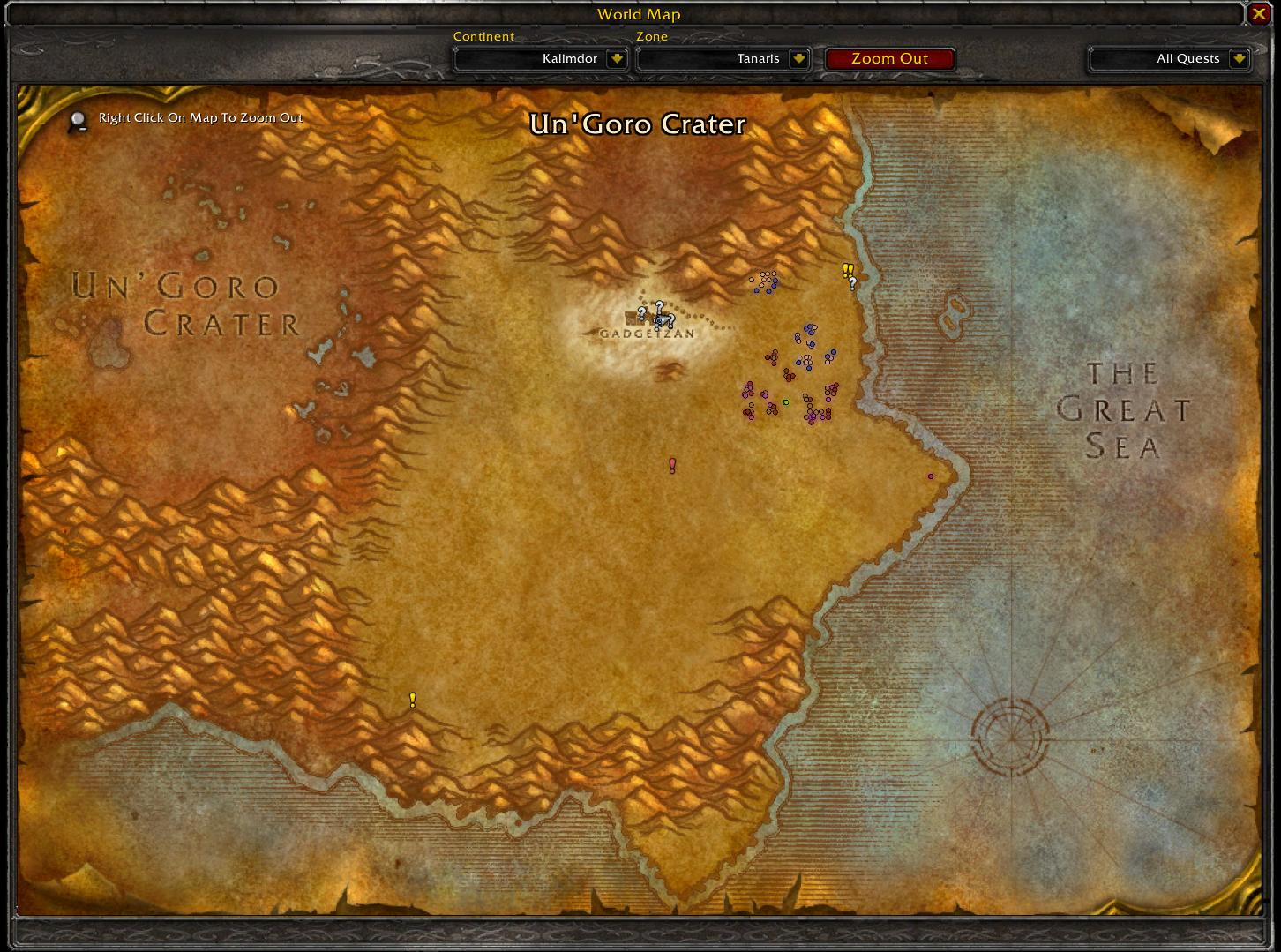 Classiccodex Wow Classic 1.13 Map 1