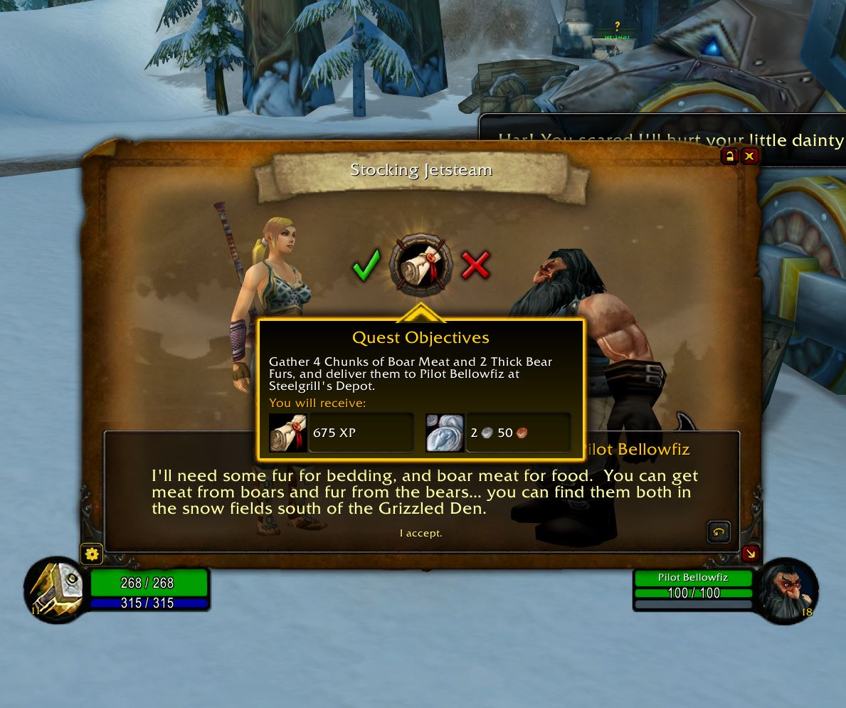 Storyline Wow Classic Addon 1.13 Objectives