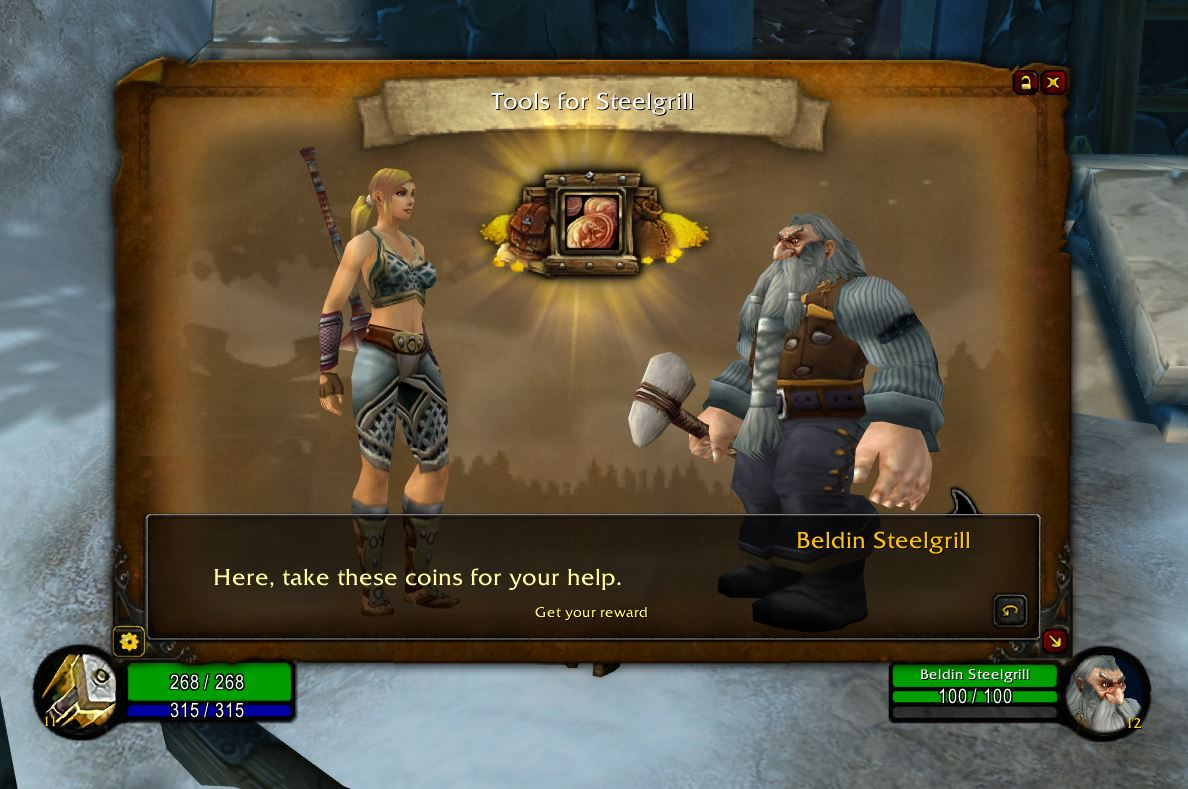 Storyline Wow Classic Addon 1.13 Quest Completion