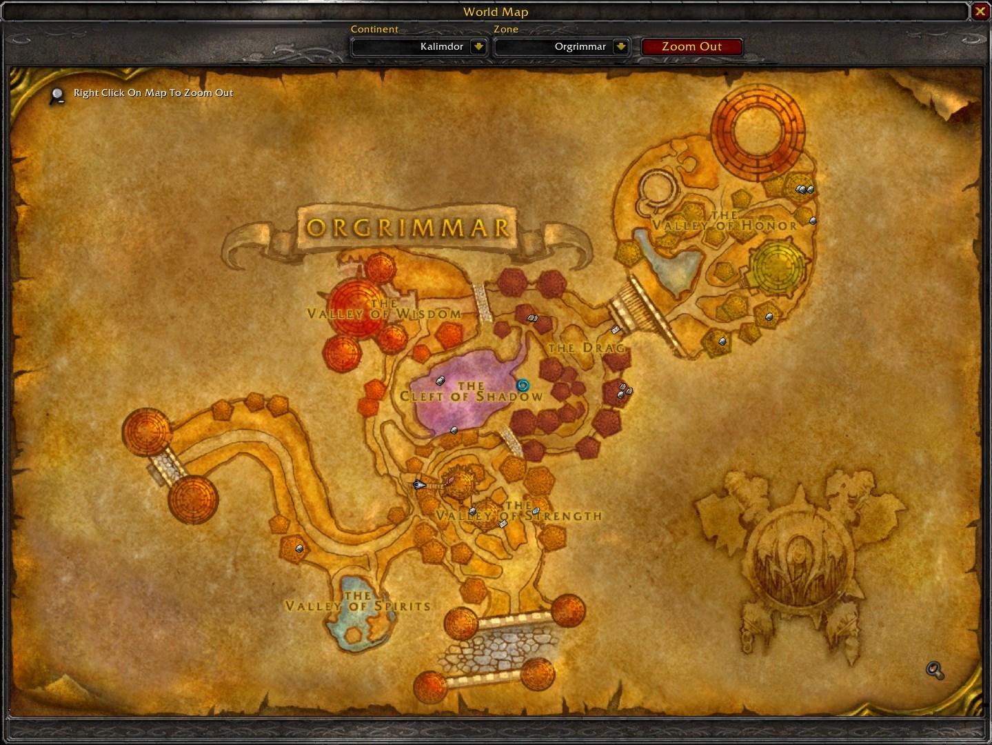 Townsfolk Tracker Wow Classic Addon Map 2