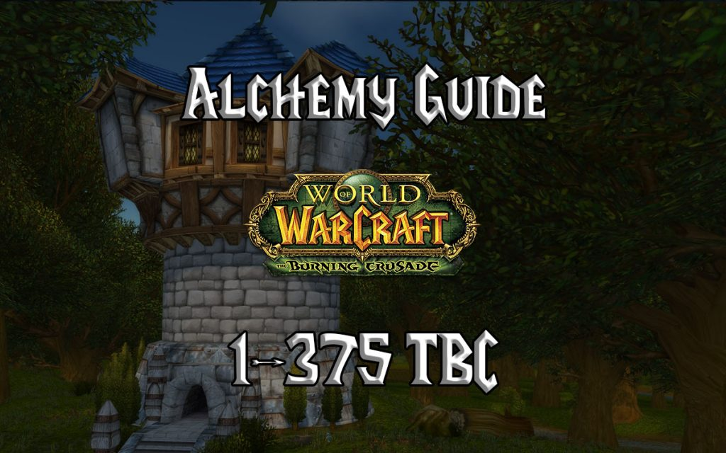 Alchemy Guide 1 375 TBC 2.4.3