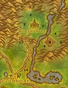 Alliance Leveling Guide Northshire Abbey