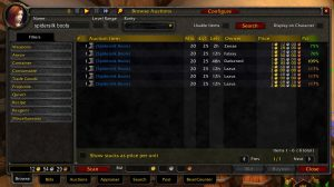 Auctioneer Wow Classic Addon 1.13