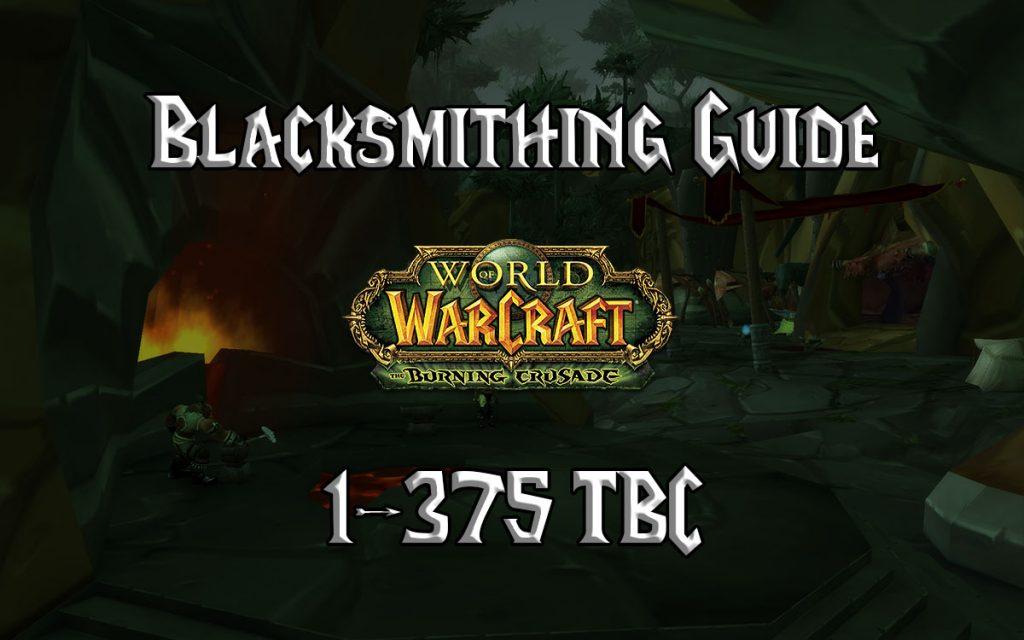 Blacksmithing Guide 1 375 TBC 2.4.3