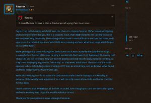 Blizzard Is Looking Into The Honor Calculation Bug