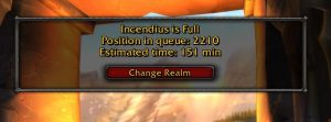 Blizzard Is Working On Queue Relief Options For High Population Realms In Wow Classic