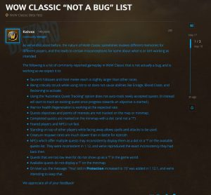 Blizzard Posts A Not A Bug After Beta Players Make Incorrect Reports