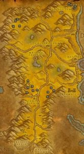 Classic Treasure Chest Hunting Guide Images Barrens Corners