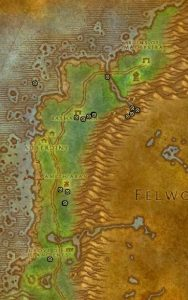 Classic Treasure Chest Hunting Guide Images Darkshore Middle