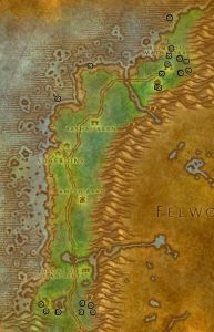 Classic Treasure Chest Hunting Guide Images Darkshore North and South
