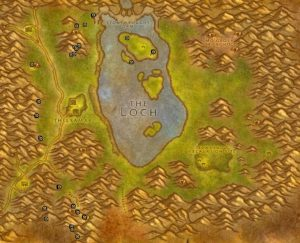 Classic Treasure Chest Hunting Guide Images Loch Modan West