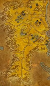 Classic Treasure Chest Hunting Guide Images Northern Barrens