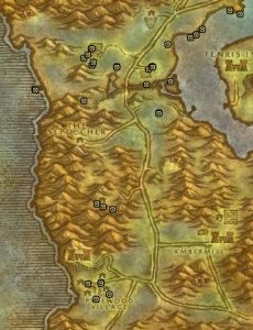Classic Treasure Chest Hunting Guide Images Silverpine Forest