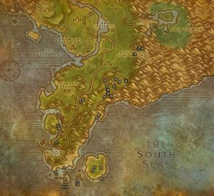 Classic Treasure Chest Hunting Guide Images Stranglethorn Vale South