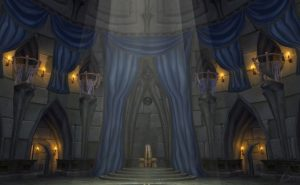 Classic Wow Children's Week Guide Throne Room
