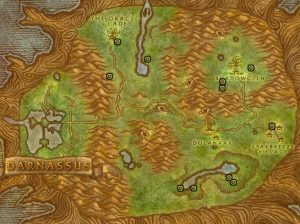 Classic Wow Noblegarden Guide Images Teldrassil Map1