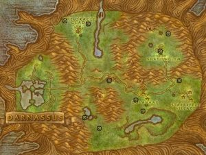 Classic Wow Noblegarden Guide Images Teldrassil Map3