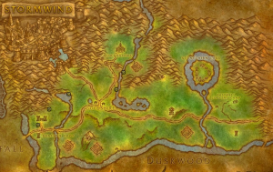 Classic Wow Noblegarden Guide Map Images Elwynn Forest 1