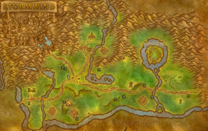 Classic Wow Noblegarden Guide Map Images Elwynn Forest 2