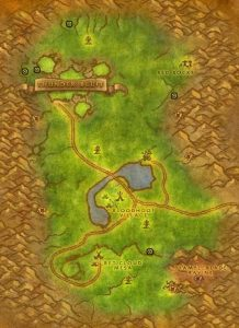 Classic Wow Noblegarden Images Mulgore Map2