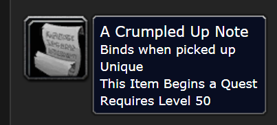 Classic Wow Onyyxia's Lair Attunement Guide A Crumpled Up Note