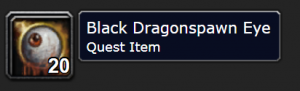 Classic Wow Onyyxia's Lair Attunement Guide Black Dragonspawn Eye