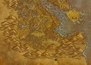 Classic Wow Onyyxia's Lair Attunement Guide Emberstrife Map