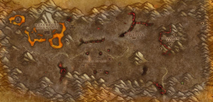Classic Wow Onyyxia's Lair Attunement Guide Helendis Riverborn Map