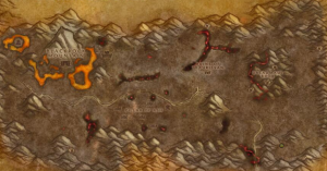 Classic Wow Onyyxia's Lair Attunement Guide Marshal Maxwell Map