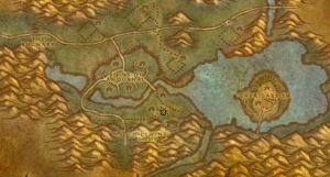 Classic Wow Onyyxia's Lair Attunement Guide Myranda The Hag Map