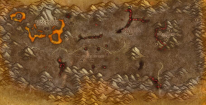 Classic Wow Onyyxia's Lair Attunement Guide Ragged John Map