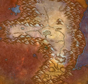 Classic Wow Onyyxia's Lair Attunement Guide Scryer Map