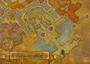 Classic Wow Onyyxia's Lair Attunement Guide Squire Rowe map
