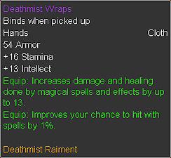 Deathmist Wraps