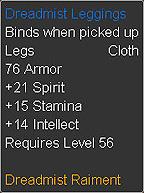 Dreadmist Leggings