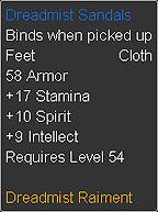 Dreadmist Sandals