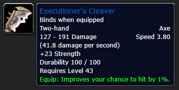 Executioner's Cleaver