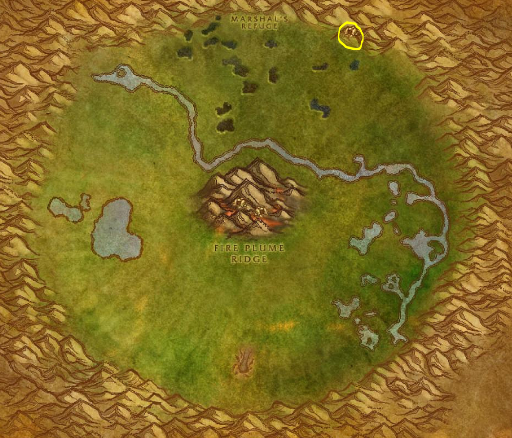 Ghost Mushroom Hunting Guide Images Un'goro Crater Map