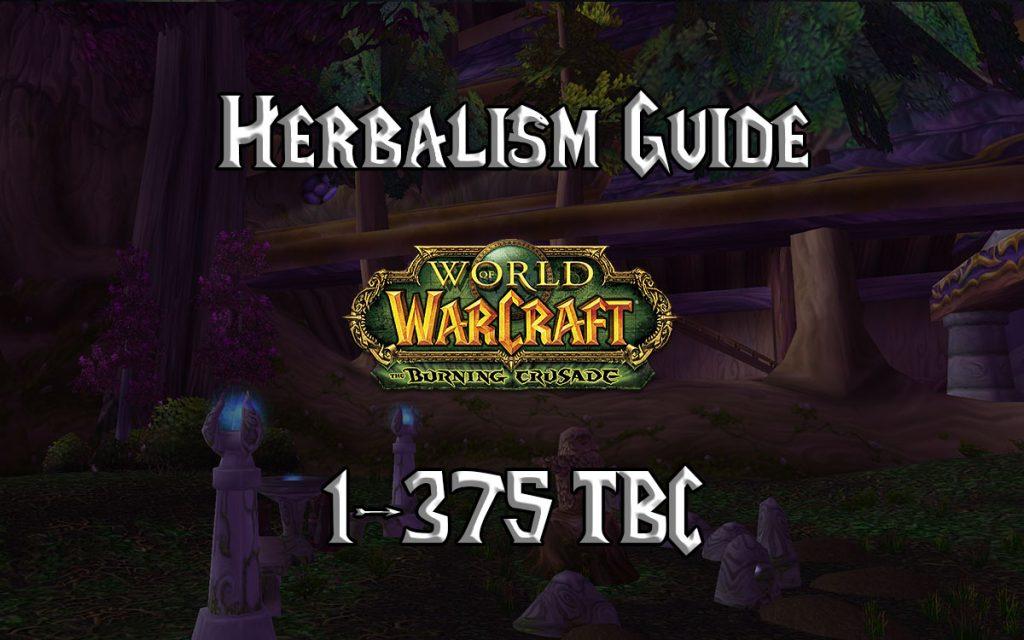 Herbalism Guide 1 375 TBC 2.4.3