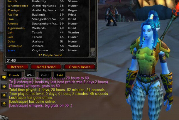 How Long Does It Take To Get To Level 60 In Wow Classic Warcraft Tavern
