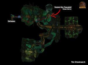 Karazhan Attunement Steamvaults Map Second Key Fragment