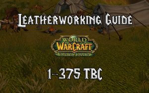 Leatherworking Guide 1 375 TBC 2.4.3