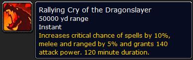 Rallying Cry of the Dragonslayer